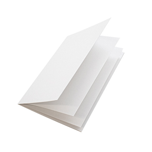 5 x 7 white linen insert papers