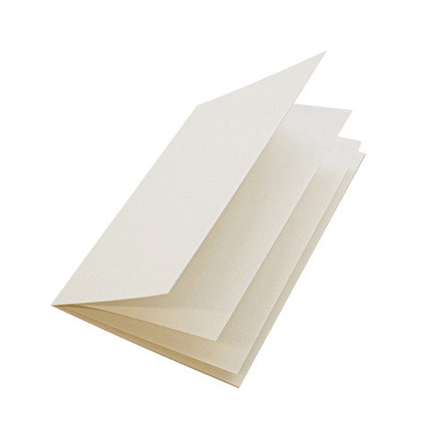 5 x 7 Ivory linen insert papers