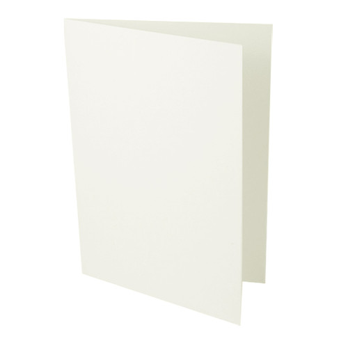 A6 Recycled Aged White Card Blank