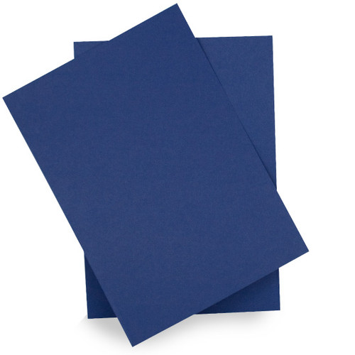 A6 Midnight blue card sheets