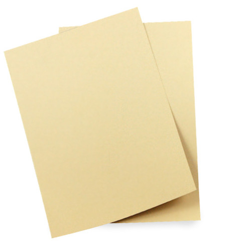A6 Card Sheets, Beige Matte (50 pack)