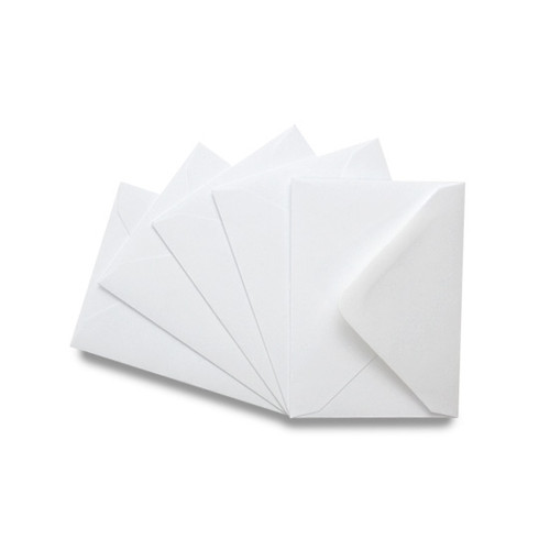 C7 Small Mini Envelopes, Premium Luxury White