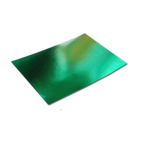 A6 Mirror Card Sheets - Green (50 pack)