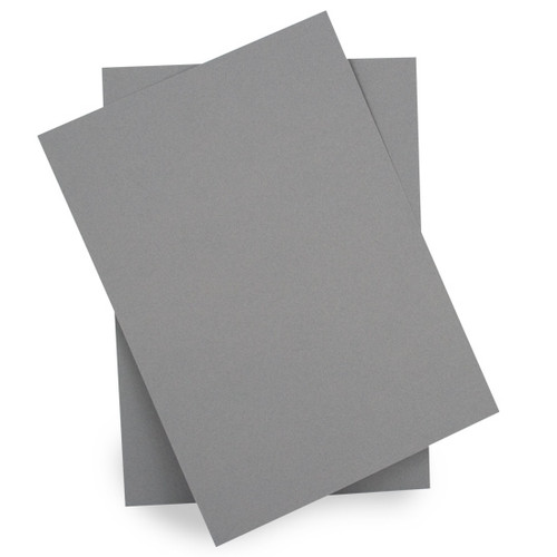 A5 Card Sheets, Grey Matte (50 pack)