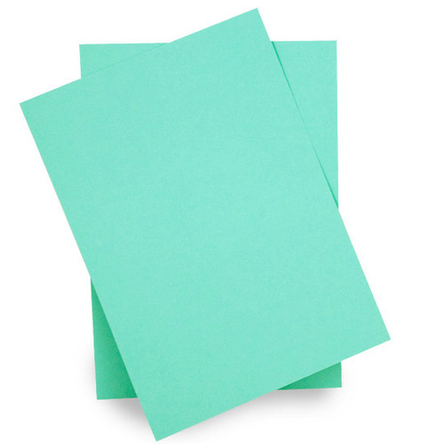 A5 Card Sheets, Aqua Matte (50 pack)