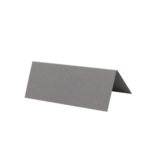 Place Cards, Grey Matte