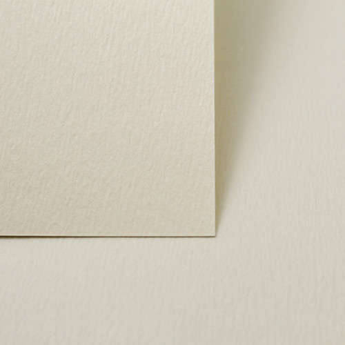 A5 Ivory accent textured card sheets