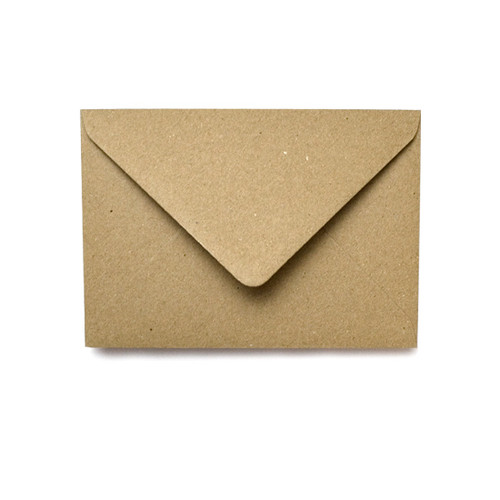 Wholesale box, C6 Brown Kraft Envelopes (1,000)