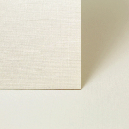 A6 Card Sheets, Ivory Linen 260gsm (50 pack)