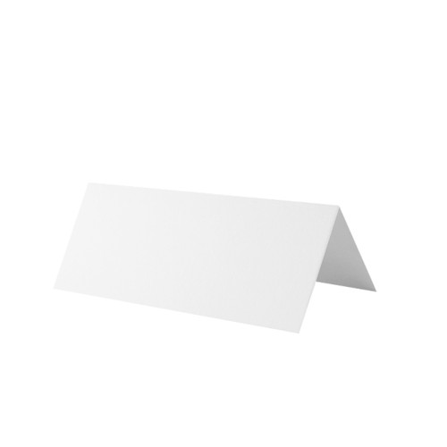 Place Cards, White Silk 350gsm