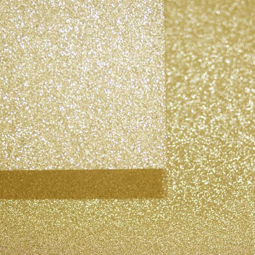 A4 Glitter Card, Gold (non shedding)