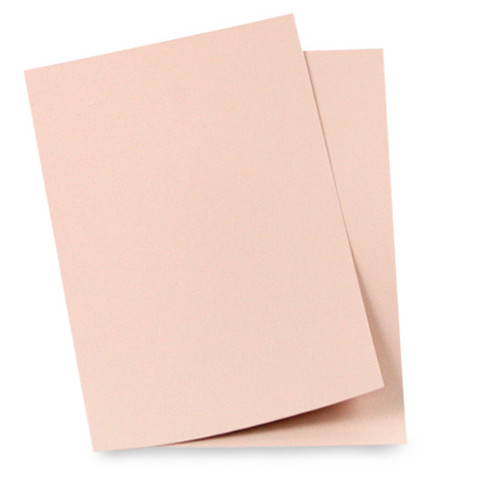 A4 Card, Rose Gold Matte