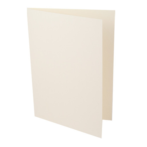 A5 Ivory smooth card blanks