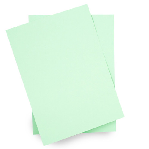 A6 Card Sheets, Mint Green Matte (50 pack)