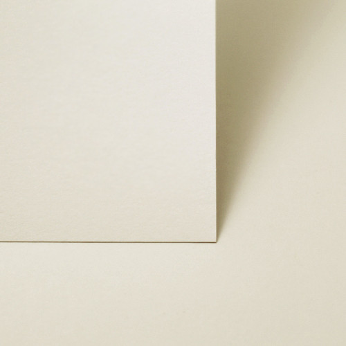 A5 Ivory silk card sheets