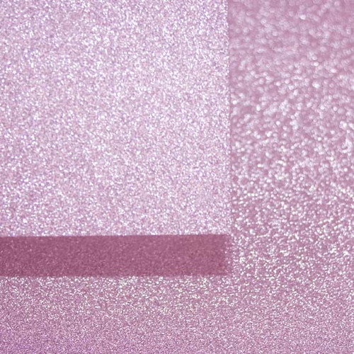 A4 Glitter Card, Pastel Pink (non shedding)