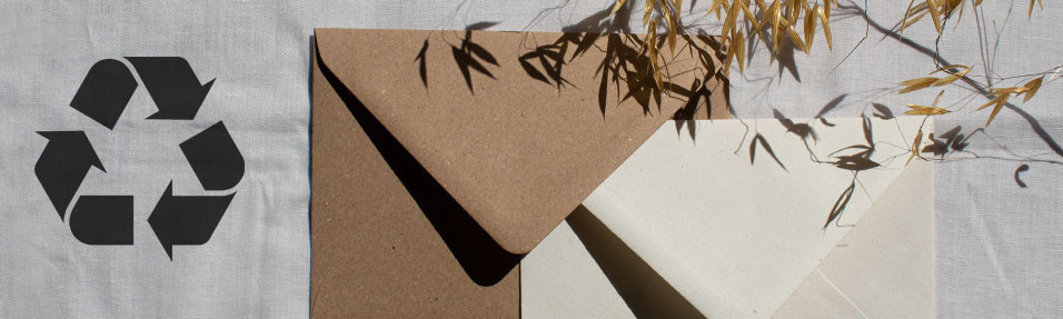 Top 6 Recycled Card, Paper & Envelopes
