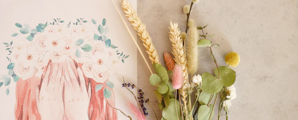 4 Materials for Your Floral Greeting Cards