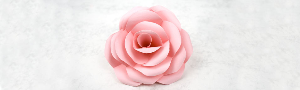How to Make Simple, Realistic Paper Roses