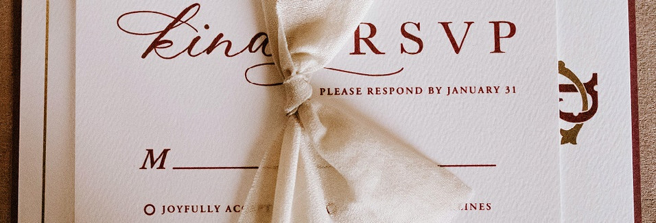 The Definitive Checklist for Your DIY Wedding Stationery