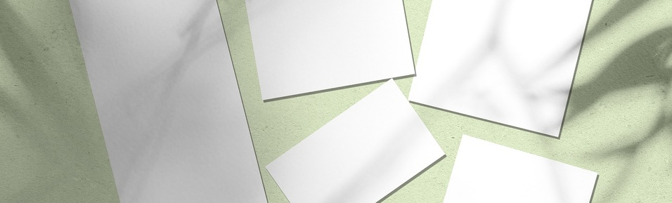 A Size Guide for Our Card, Envelope and Paper Supplies