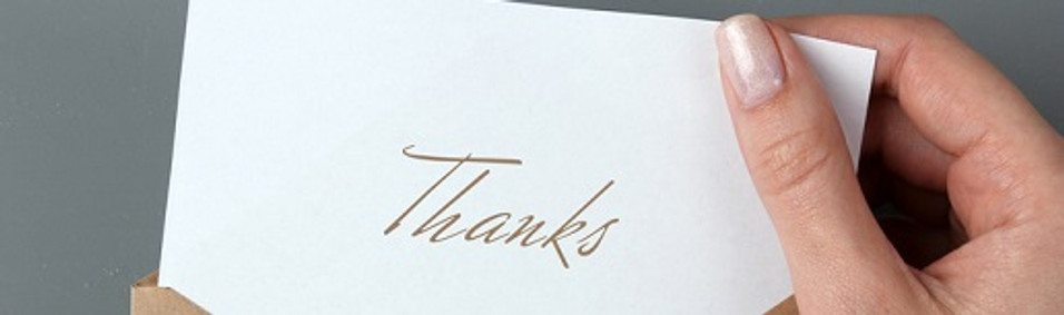 A Guide to Creating Personalised Thank-You Cards