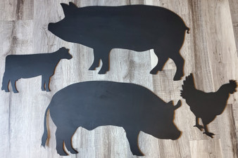 Chalkboard Farm Animals