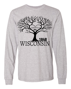 Wisconsin Roots Long Sleeve Tee