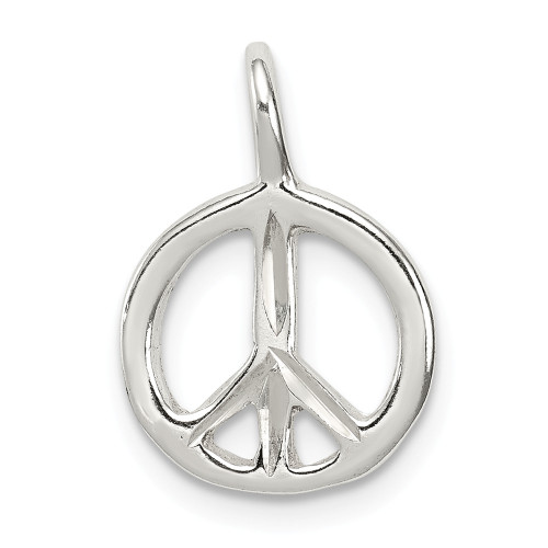 Sterling Silver Peace Charm - QC1671
