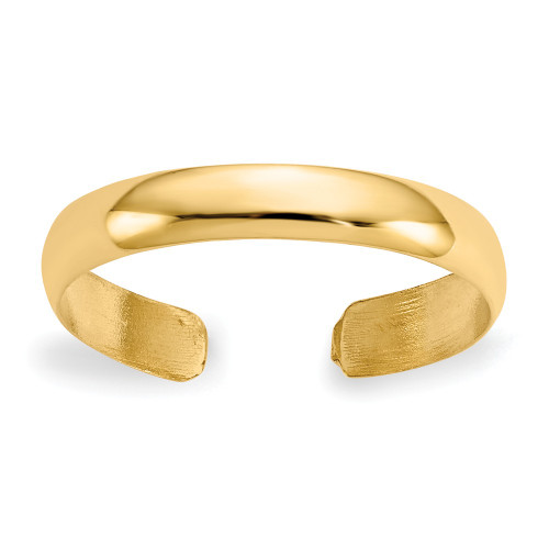 14k Yellow Gold High Polished Toe Ring C2098