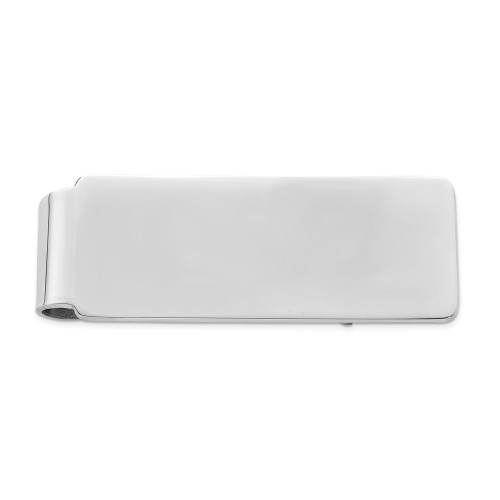 Sterling Silver Rhodium-plated Money clip QQ140