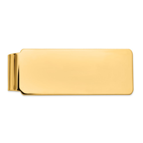 14k Yellow Gold Money Clip MC153