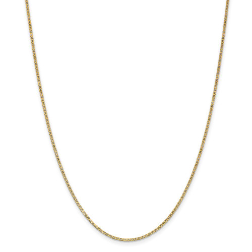 14k Yellow Gold 1.5mm Anchor Link Chain 14inch PEN50-14