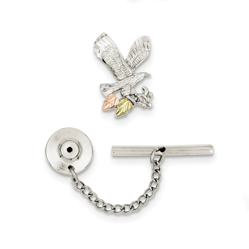 Sterling Silver and 12K Eagle Pin/Tie Tac QBH174