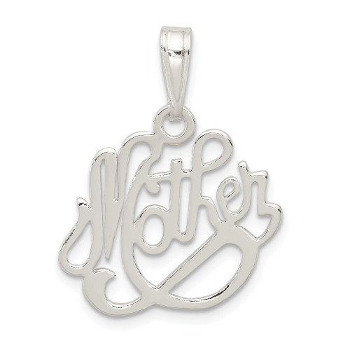 Sterling Silver Mother Pendant QC3744