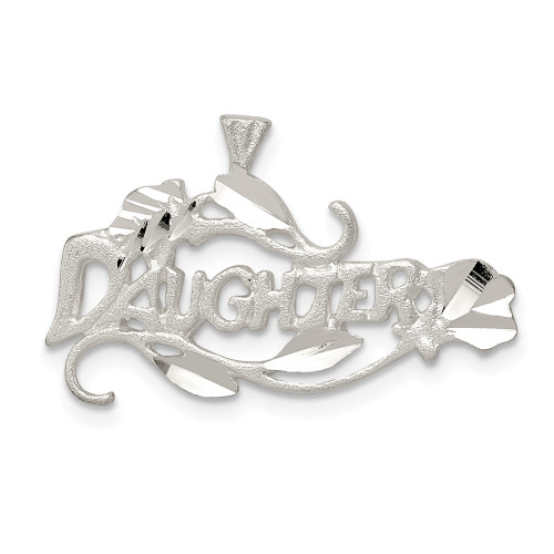 Sterling Silver Daughter Charm QC1587