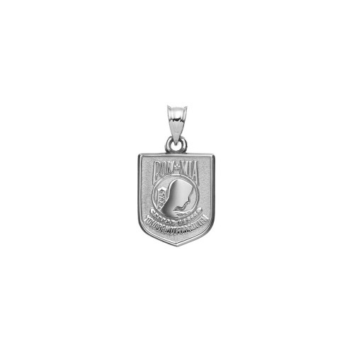 Sterling Silver POW And MIA Pendant PBS053PNSS