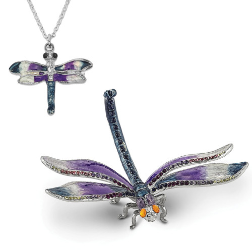 Bejeweled MADAME DRAGONFLY Ring Holder BJ2024