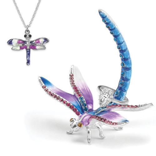 Bejeweled DIVA Dragonfly Ring Holder BJ4083