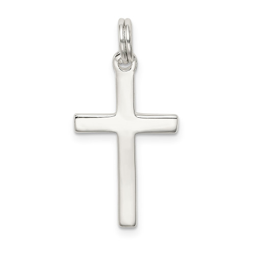 Sterling Silver Cross Pendant 23x14 QC4277