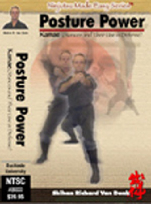 POSTURE POWER - Kamae and their use in defense