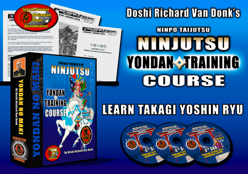 TAKAGI YOSHIN RYU COURSE - YONDAN