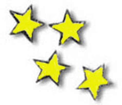 Yellow Uniform Stars