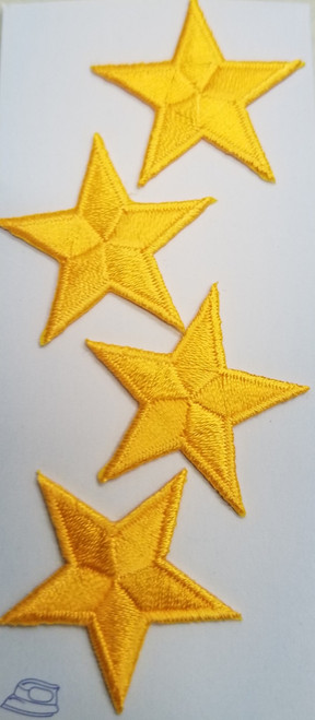 YELLOW UNIFORM STARS
