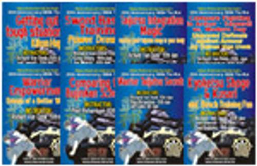 WARRIOR SECRETS TAI KAI COMPLETE 8 DVD Set
