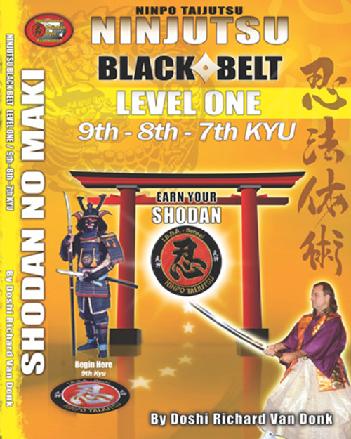 NINJUTSU SHODAN BOOK LEVEL ONE