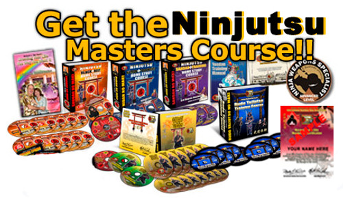 BUJINKAN MASTERS COURSE ONLINE - Time Delivered