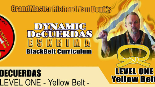 ESKRIMA LEVEL ONE - YELLOW BELT