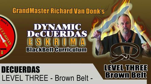 ESKRIMA LEVEL THREE- BROWN BELT
