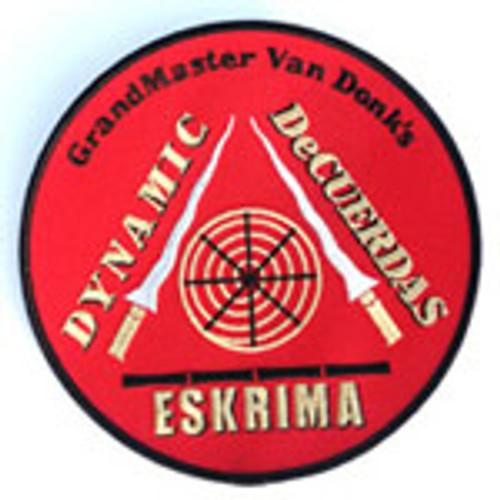 DeCuerdas Eskrima 6 inch Round Patch